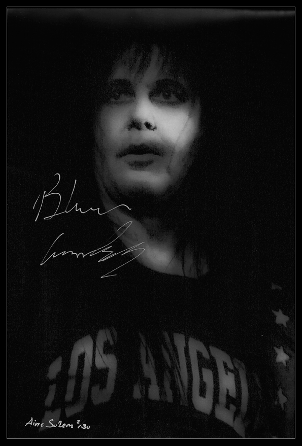 Blackie Lawless wasp W.A.S.P. concert live signature signed photo autograph